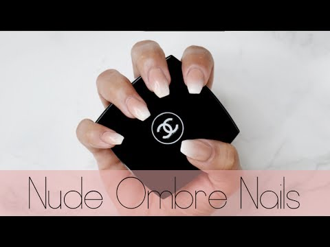 Easy French Fade/Baby Boomer Nails Design