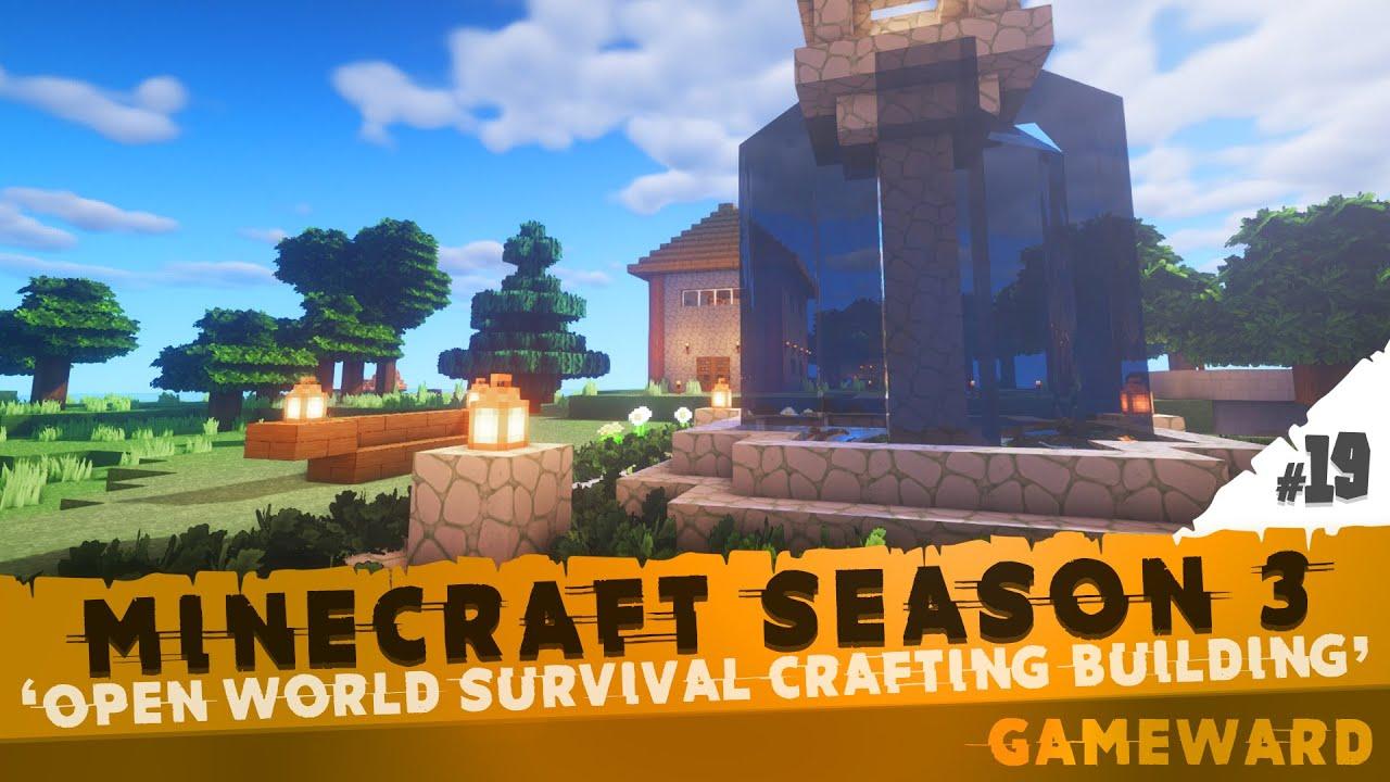 Το συντριβάνι μας! #19   Minecraft Season 3   Greek