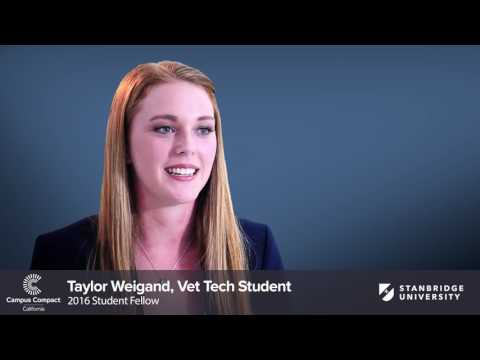 Vet Tech Student Campus Compact Fellowship Project With The Orange County Animal Care Center