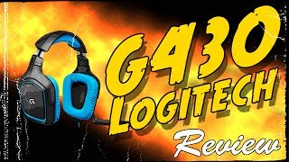 Logitech G430 Surround Gaming Headset Full Review