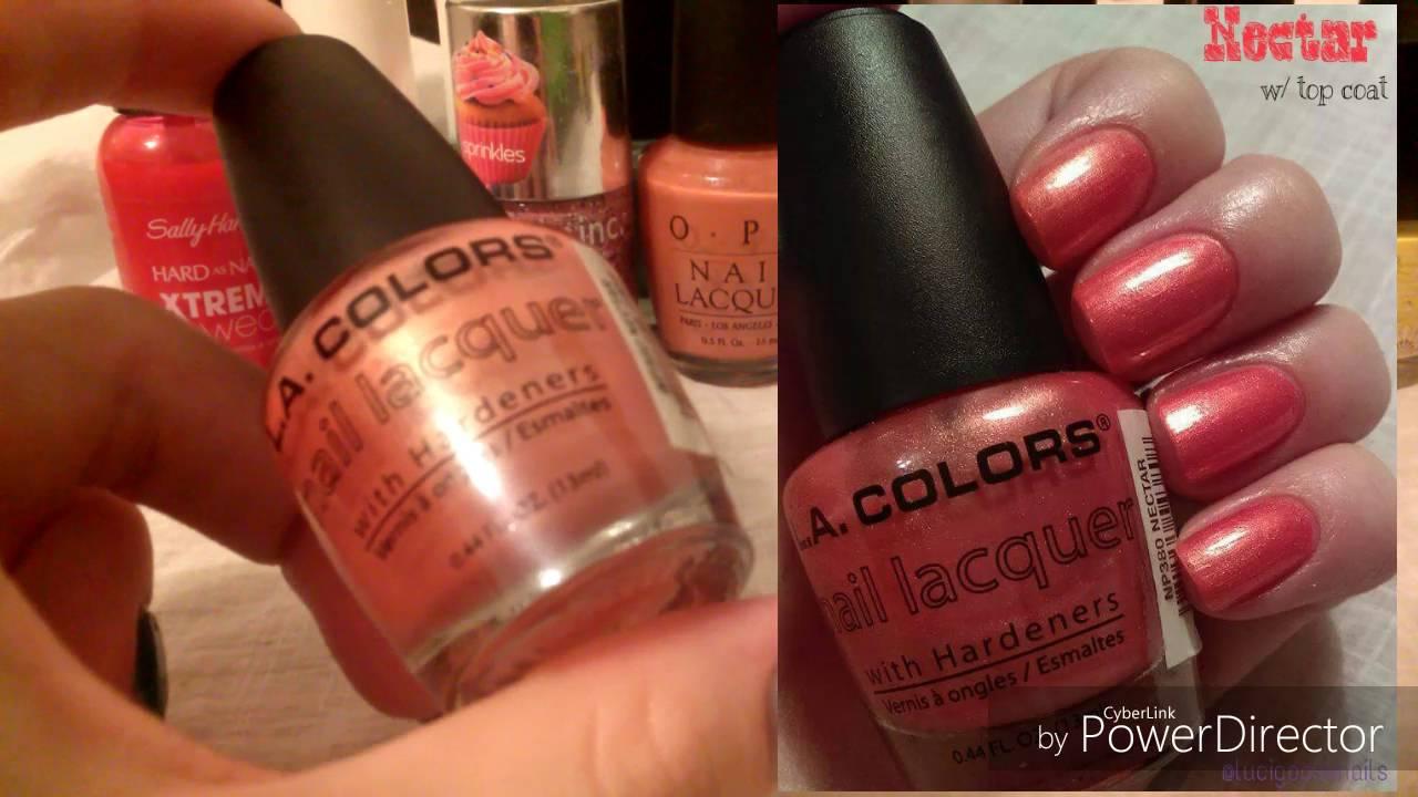 2016 Summer Nail Polish Picks! (L.A. Colors, O.P.I., Sinful Colors ...