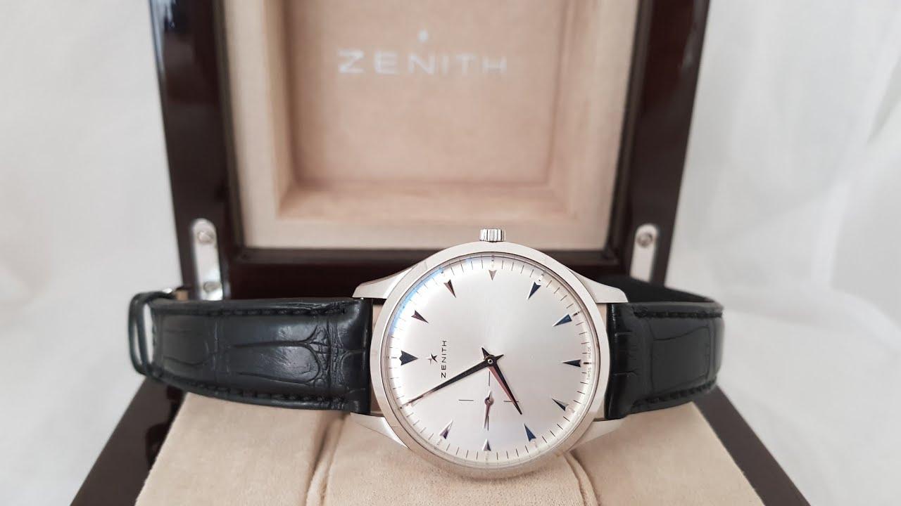 Ультра тонкие часы от Zenith, модель Heritage  03.2010.681/01.C493!