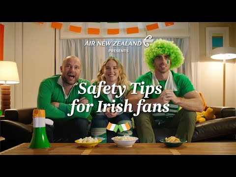 How to stay safe this weekend #NZLvIRE