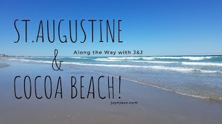 St. Augustine Beach & Cocoa Beach Florida - Quick Spring Visit - Quick View 🏖
