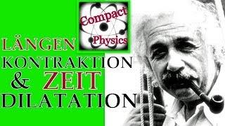 Längenkontraktion und Zeitdilatation (Ad_Math#26) [Compact Physics] Thumbnail