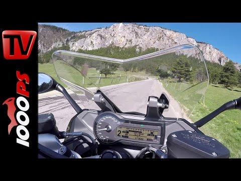 BMW R 1200 RS Onboard Soundvideo Gyrocam + 60fps