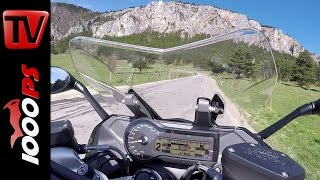 BMW R 1200 RS Onboard Soundvideo Gyrocam + 60fps