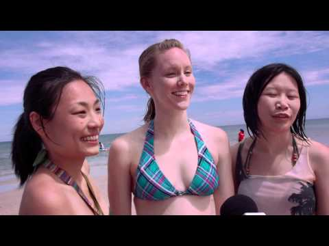 International Students experience South Australian beaches - University of South Australia