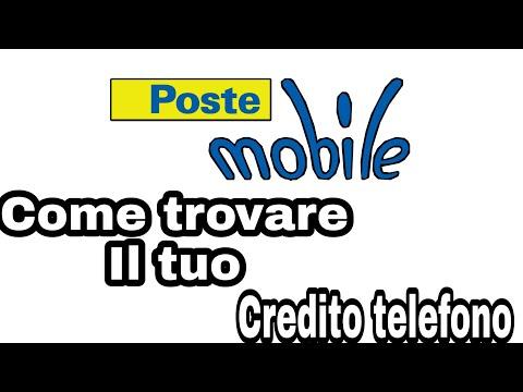 Poste Mobile Come Trovare Il Tuo CREDITO TELEFONO Inmediato 😱