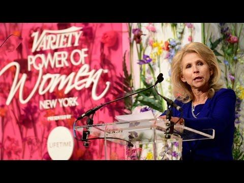 Shari Redstone honored at Variety's Power of Women