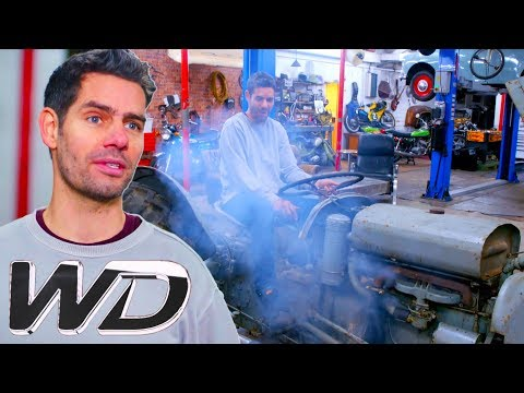Old Tractor Is Brought Back To Life! | Wheeler Dealers: Dream Car