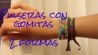 Pulseras con Gomitas / Loom Bands (2 Formas Sin telar) Thumbnail