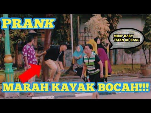 COWOK MUKA SANGAR MEWEK KAYAK ANAK KECIL || PRANK INDONESIA