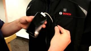 Bosch 12V Max Lithium-Ion Softshell Heated Jacket - PSJ120