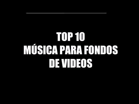 TOP 10 | MÚSICA PARA FONDOS DE VIDEOS | Kevin MacLeod