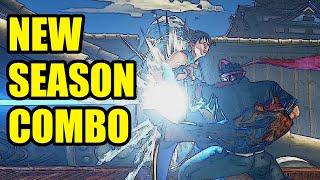 Season V Combo Showcase - Street Fighter V