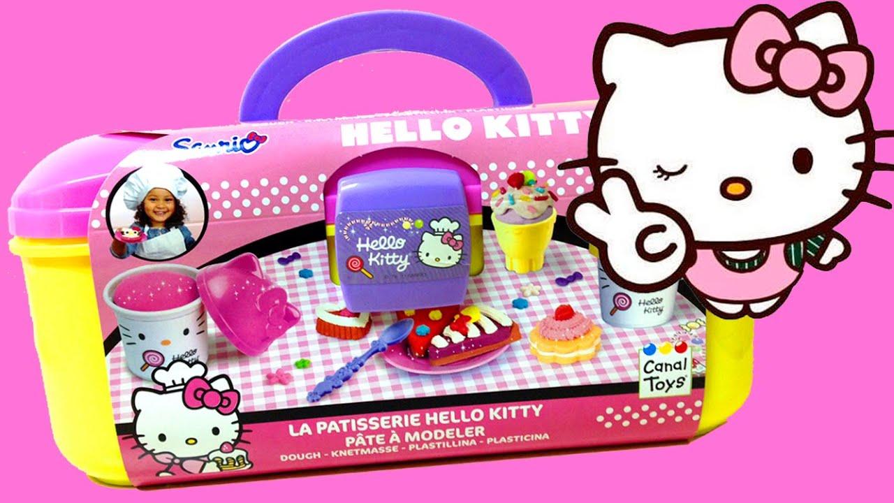 play doh hello kitty la pâtisserie dough set hello kitty pastry