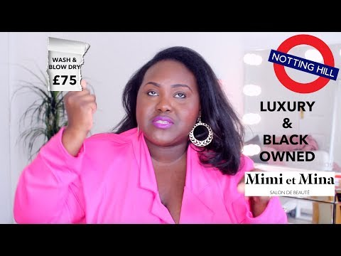 I WENT TO AN EXPENSIVE BOUJIE BLACK SALON IN LONDON TO DO MY HAIR