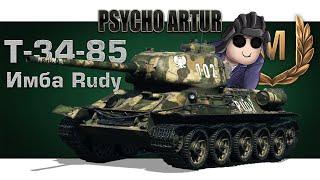 Psycho_Leps и Т-34-85 Rudy