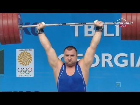 2015 European Weightlifting Championships Men's +105 kg \ Тяжелая атлетика Чемпионат Европы