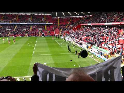 Charlton FC Fans Protest