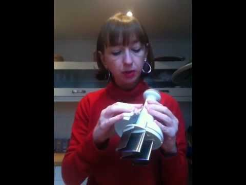 How to clean a Pampered Chef Food Chopper