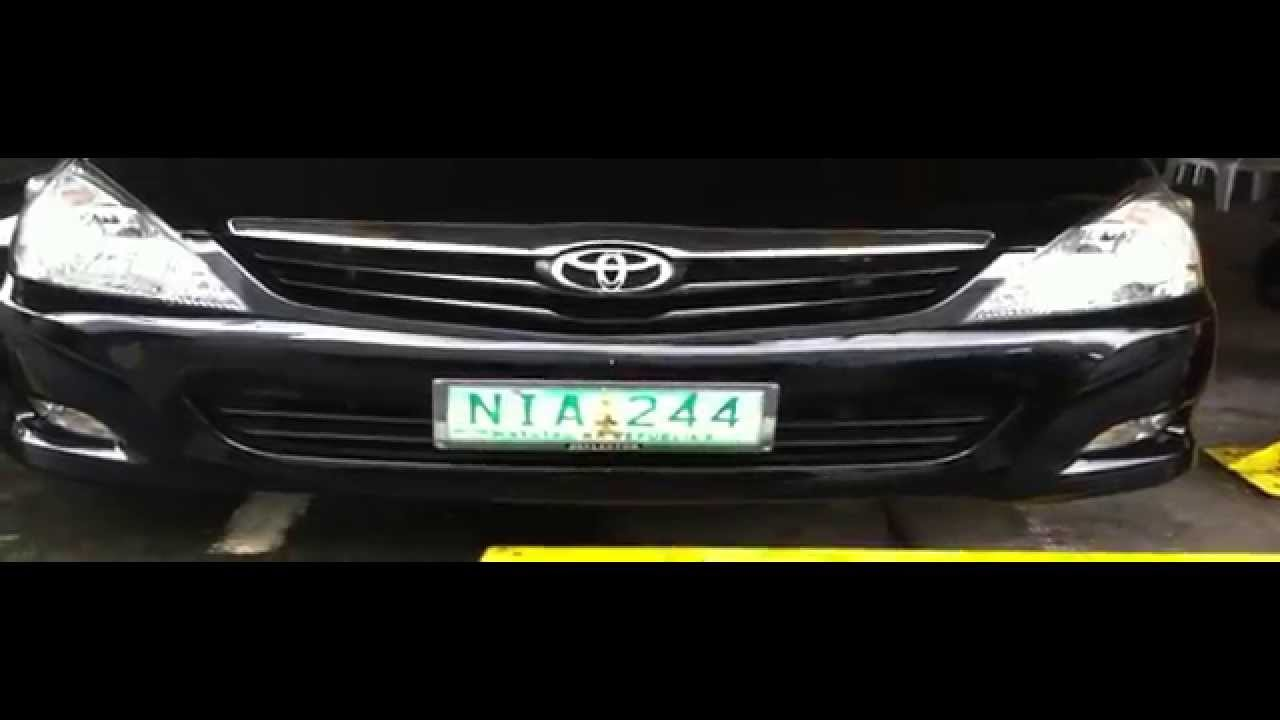 2010 toyota innova review start up in depth tour engine exhaust youtube
