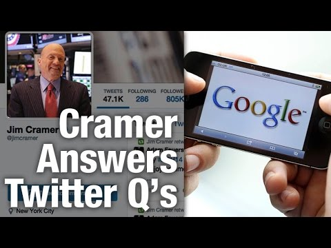 Jim Cramer Answers Twitters Questions From the Floor of the New York Stock Exchange