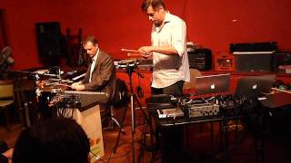 M.C. Schmidt and John Berndt at the Red Room 2009 Part1