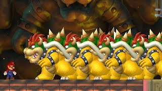 Can Mario Beat 999 Bowser´s in New Super Mario Bros. Wii ?