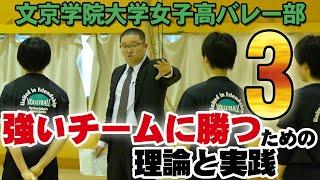 文京学院大学女子高バレー部 ~強いチームに勝つための理論と実践~ Disc3 sample