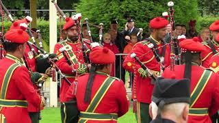 Royal Army of Oman Pipe Band @ World Championships 2018