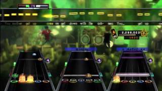 Down With the Sickness - Disturbed Expert+ Full Band Guitar Hero 5