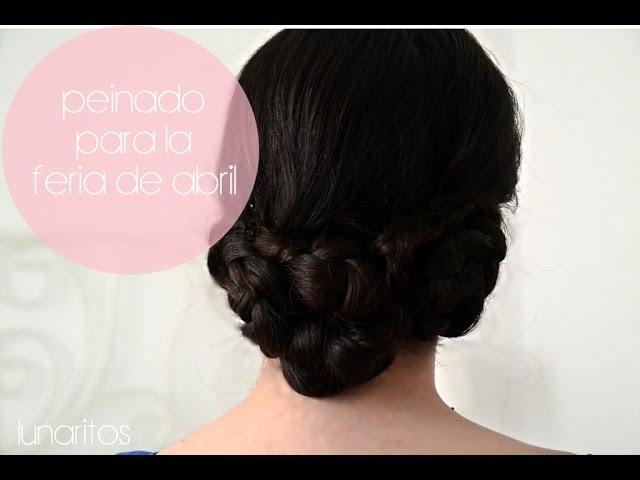 todo sobre los peinados de flamenca paso a paso los peinados - Peinados Bajos