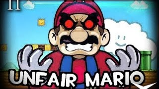 11.Me odiais fijo xd (Unfair Mario) // Gameplay Español