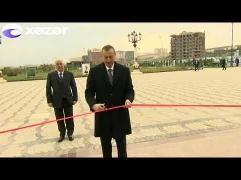 Prezident İlham Əliyev Sumqayıt şəhərində olub