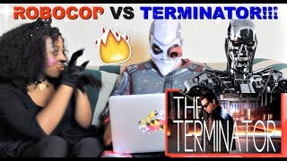 "Epic Rap Battles of History ""Terminator vs Robocop"" Reaction!!!"