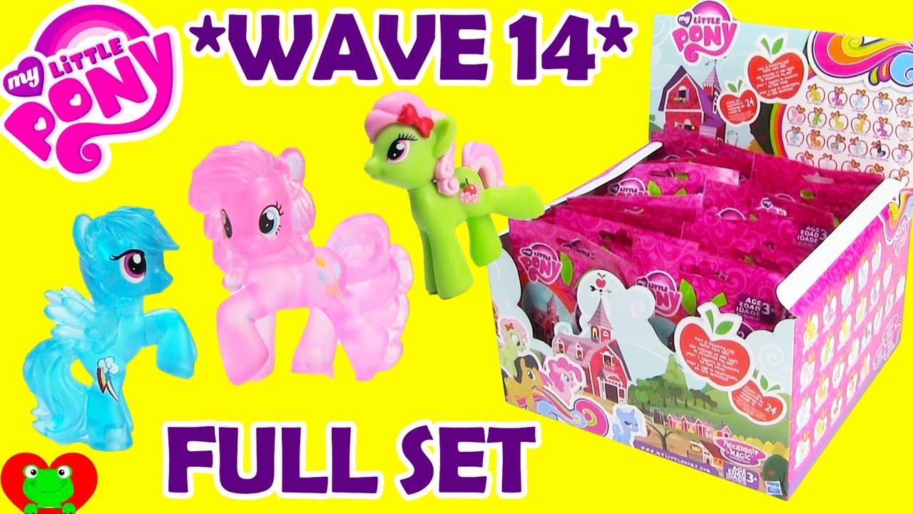 My Little Pony Wave 14 Blind Bags Full Set Youtube