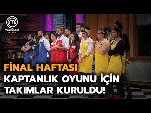 Takım Oyununda Yarışacak 3 Takım Belirlendi | MasterChef Türkiye | Final Haftası