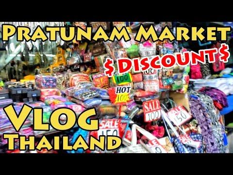VLOG Thailand: Pratunam Market Discount Shopping | Bangkok