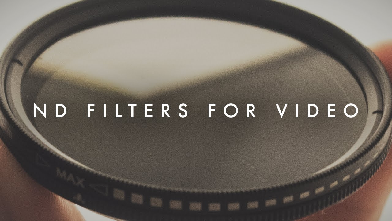 How To Get The Cinematic Look in Bright Sunlight (ND Filters for Video  Tutorial)