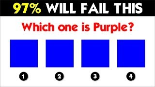 How Good Are Your EYES ? (97% FAIL THIS TEST!)