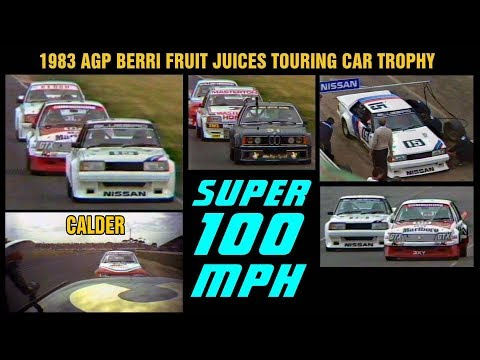 1983 AGP BERRI FRUIT JUICES Touring Car Trophy CALDER
