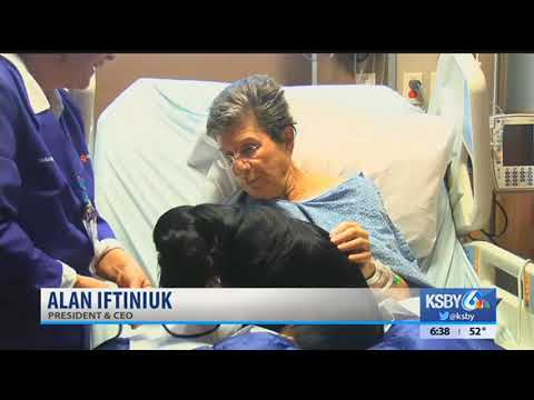 French Hospital Medical Center receives grant for pet therapy program