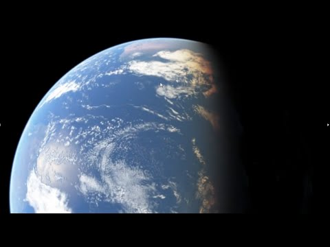 How to fake the globe earth with animation - Flat Earth