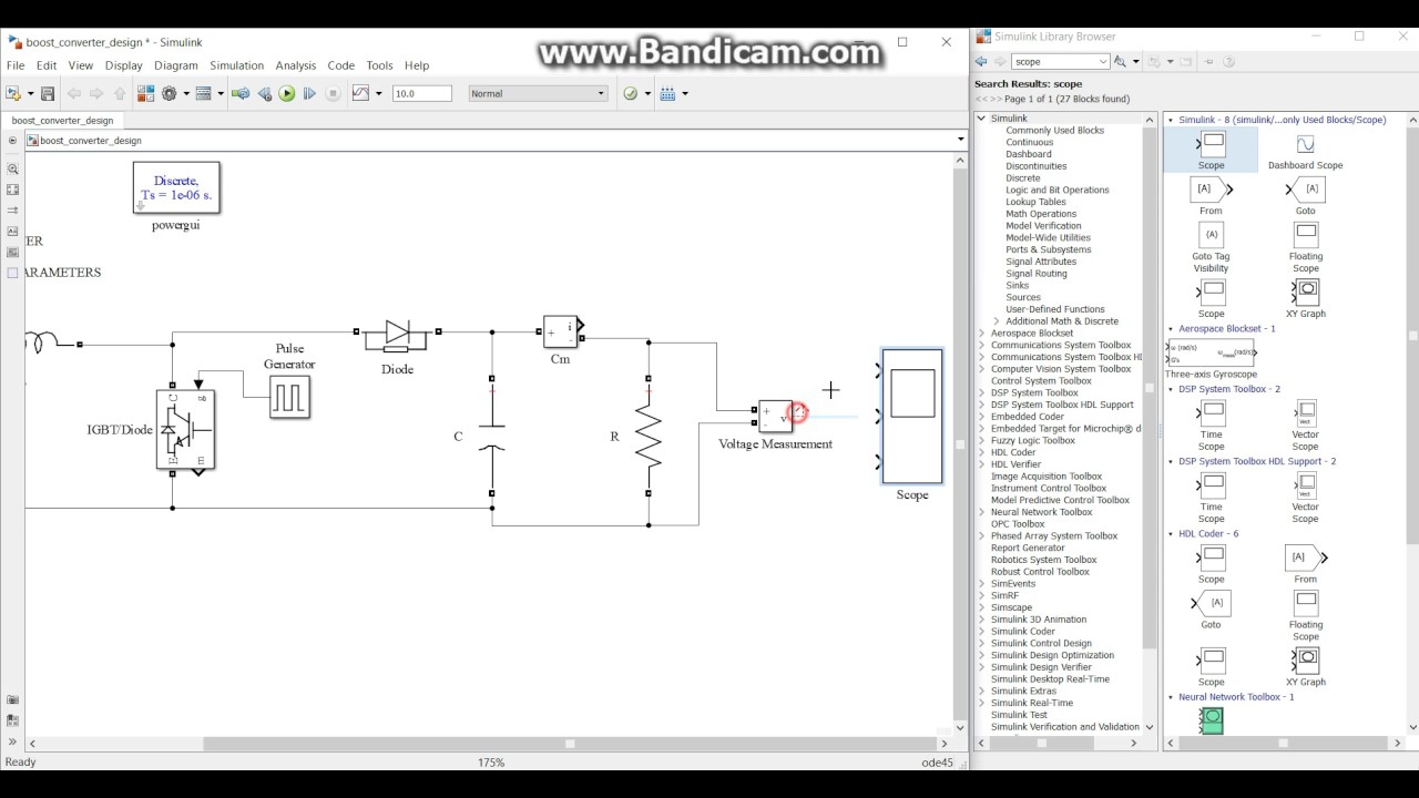 Boost Converter Parameter Calculation And Design In Matlab Simulink Circuit Part1