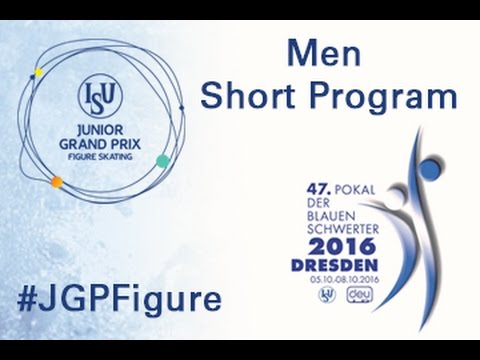 2016 ISU Junior Grand Prix - Dresden - Men Short Program