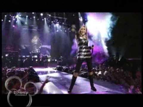 Hannah Montana - RockStar - Live From The 3D Movie