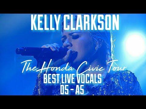 Kelly Clarkson // Best Live Vocals (D5-A5) || The Honda Civic Tour (2013) (HD)