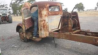1948 REO Truck First Start in 41 years